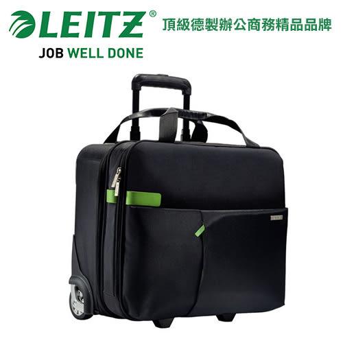 德國LEITZ 智慧商旅系列  6059 2輪手提登機箱-黑 / 個