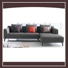 【多瓦娜】優庫L型沙發(面右)(含抱枕) 21152-425004
