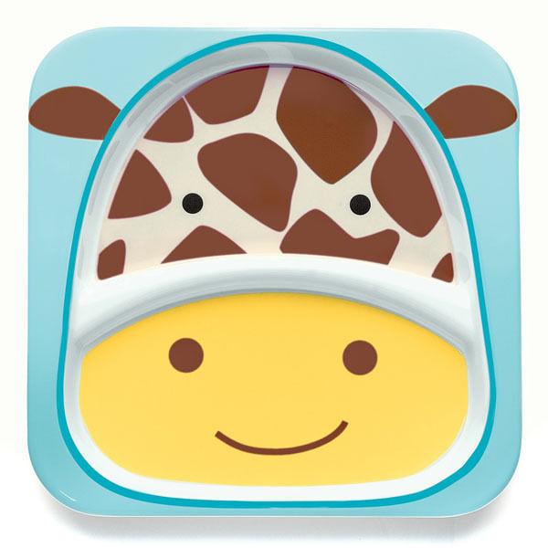 餐具 / 兒童餐具  Skip Hop 動物餐具-長頸鹿 SH2522130