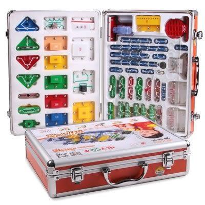 電子積木 物理電阻電路拼裝玩具益智 118拼【藍星居家】