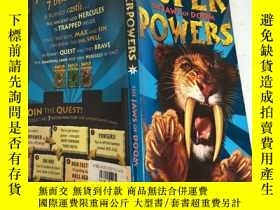 二手書博民逛書店Super罕見Powers:The Jaws Of Doom 超級大國:末日之口Y200392