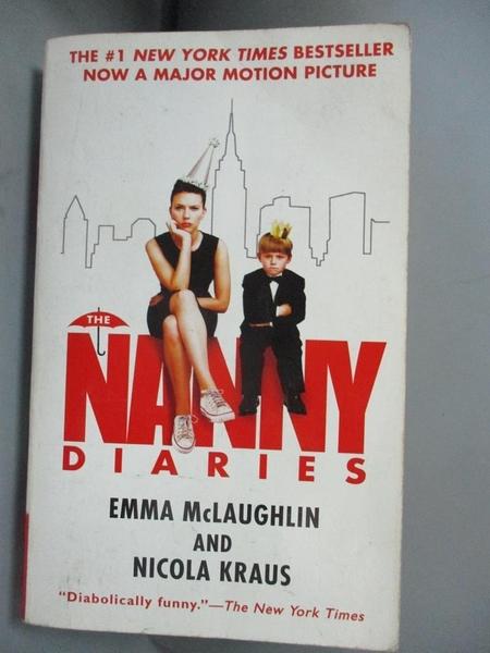 【書寶二手書T5/原文小說_MFK】The Nanny Diaries_McLaughlin