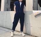 FINDSENSE H1 2018 夏季 新款 獨家高端設計 清新藍色 休閒 牛