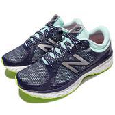 New Balance 慢跑鞋 720 系列 NB 紫 藍 白底 路跑 輕量緩震 運動鞋 女鞋【PUMP306】 W720LJ4D