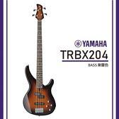 【非凡樂器】YAMAHA TRBX204 / 電貝斯套組/公司貨保固/漸層色