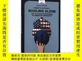 二手書博民逛書店獨自打保齡罕見MACAT解讀系列 英文原版 Bowling AloneY335736 Elizabeth Mo