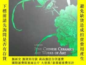 二手書博民逛書店CHRISTIES罕見倫敦佳士得 2007年11月6日 重要中國