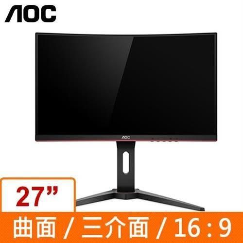 AOC 27吋VA曲面電競螢幕(C27G1)