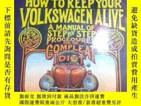 二手書博民逛書店HOW罕見TO KEEP YOUR VOLKSWAGEN ALI