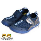 日本 IFME Water Shoes洞感排水涼鞋 中童鞋–深藍 NO.R2536