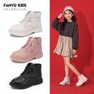 女童鞋兒童馬丁靴2019新款秋季寶寶短靴英倫軟底單靴小皮靴子
