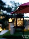 太陽能室外LED裝飾燈防水戶外院子別墅庭院燈花陽臺園景觀蠟燭燈 京都3C