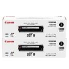 【二黑組合】Canon CRG-331 ll 黑 原廠碳粉匣 適用 MF628cw