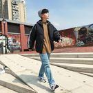 1111購物節-冬季男士加絨加厚面包服男棉衣韓版短款羽絨棉服流外套棉襖