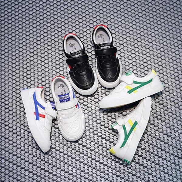 新款回力童鞋兒童帆布鞋男童運動鞋PU皮面板鞋女童布鞋透氣小白鞋【聖誕節超低價狂促】