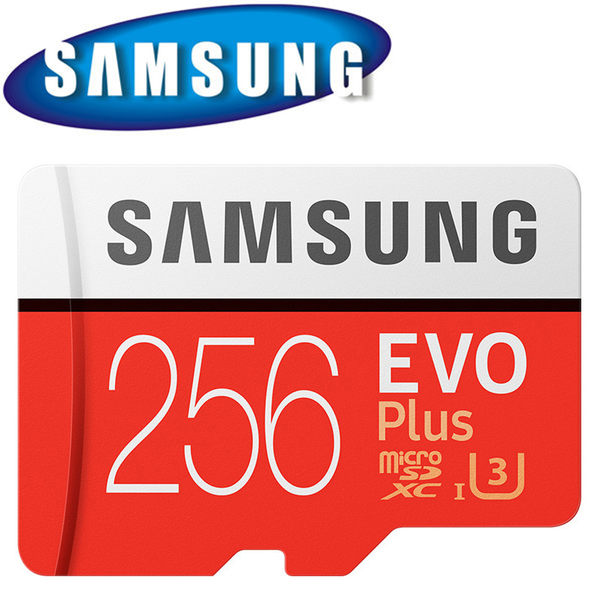 SAMSUNG 三星 256GB 256G 100MB/s EVO Plus microSDXC TF U3 C10 記憶卡