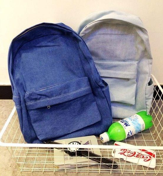 Denim Janes bag 熱銷日韓 高級牛仔布料 牛仔包 丹寧包  肩背 斜背 牛仔後背包