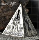 復古金字塔儲蓄罐超精緻裝潢存錢罐創意可愛...