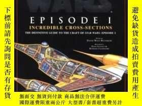 二手書博民逛書店Incredible罕見Cross-sections Of Star Wars, Episode I - The