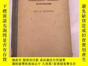 二手書博民逛書店permanent罕見magnet handbook(H1662