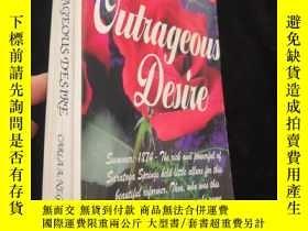 二手書博民逛書店Outrageous罕見Desire【英文原版】32開Y9636