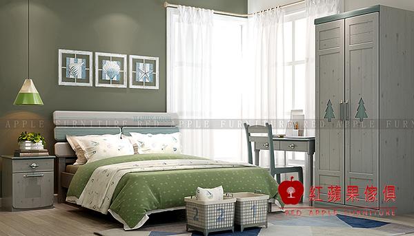 [ 紅蘋果傢俱 ]LOD-608 兒童系列 雙層床 上下床 床架 床組 數千坪展示