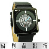 【台南 時代鐘錶 MORRIS K】小豬羅志祥 MK09155-WB03 愛不單行 閃亮超人氣鑽錶 男款 公司貨'