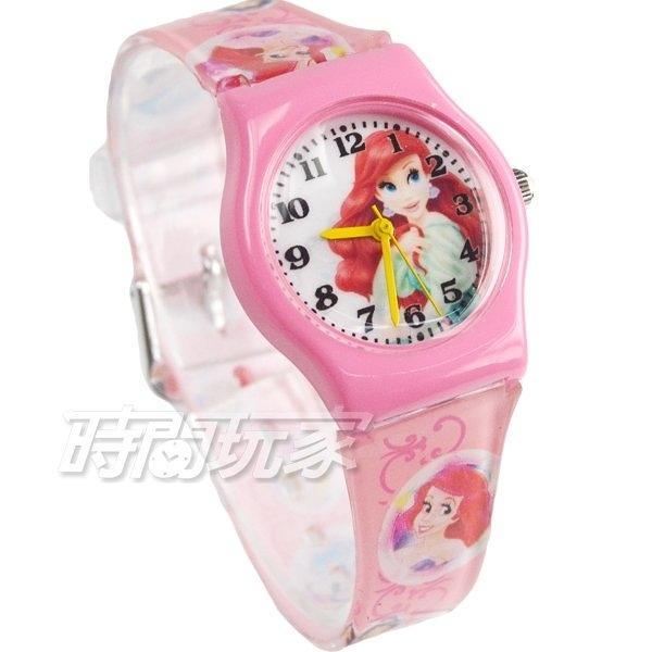 Disney 迪士尼 華特 小美人魚 童話公主 卡通手錶 兒童手錶 粉紅 D小美人魚小P4