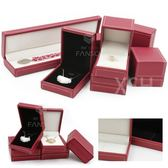 高檔荔枝紋軟皮珠寶首飾盒包裝盒飾品盒戒指盒項鍊盒【新店開張8折促銷】