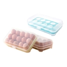 防碰撞15格雞蛋保鮮盒(1入)【小三美日】顏色隨機出貨