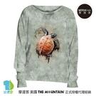摩達客 預購-美國進口The Mountain 爬行海龜 女版船型領休閒長袖T恤