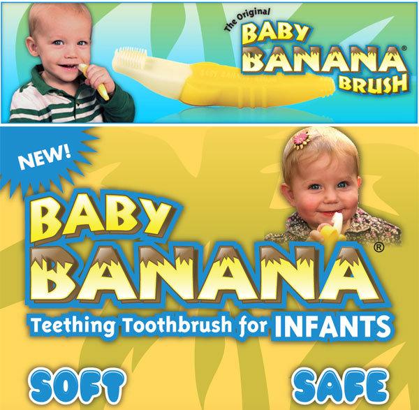 美國Banana Brush 香蕉牙刷 總代理公司貨