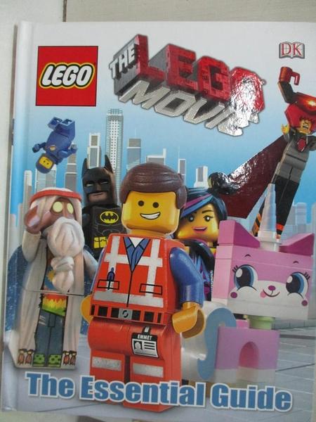 【書寶二手書T1/少年童書_DQ3】The LEGO Movie The Essential Guide_Dorling Kindersley