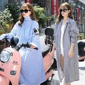 電動車防曬衣女夏季騎車長款防曬服全身遮陽防紫外線披肩長袖外套 快速出貨
