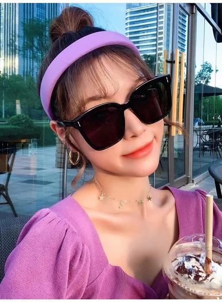 韓國最前線明星網紅同款流行復古男女款太陽眼鏡-frid