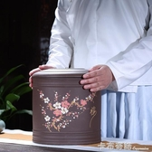 宜興紫砂茶葉罐大號碼普洱七子餅罐儲茶缸醒茶罐茶盒茶葉桶家用 雙十一全館免運