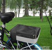 折疊電動自行車后座車包代駕專用包山地車后馱包騎行尾包貨架駝包  時尚教主