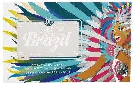 美國 BH Cosmetics Take Me Back To Brazil 巴西 森巴嘉年華35色眼影盤