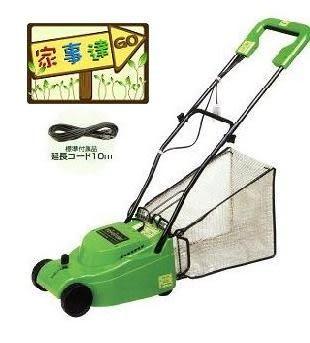 [家事達] TOYOTOMI 電動手推割草機 割幅20cm 特價