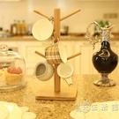 晉竹歐式家用多層瀝水杯子掛架創意置物收納架馬克玻璃咖啡茶杯架 小時光生活館