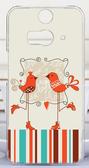 ♥ 俏魔女美人館 ♥ HTC Butterfly 2{ 鳥兒情侶*水晶硬殼 }手機殼 手機套 保護殼 保護套