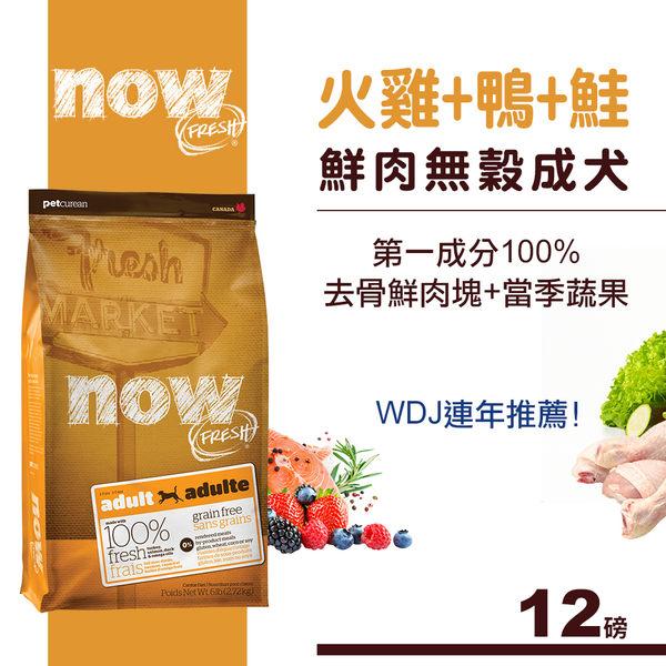 【SofyDOG】Now! 鮮肉無穀天然糧 成犬配方(12磅)狗飼料 狗糧