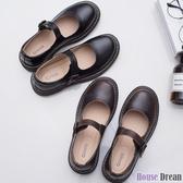 娃娃鞋 日系娃娃鞋女春夏新款復古圓頭學院風搭扣小皮鞋lolita軟妹單鞋
