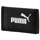 Puma 黑 短夾 運動錢包 零錢包 錢包 皮夾 皮包 運動 三折式 運動短夾 拉鍊 多夾層 07561701