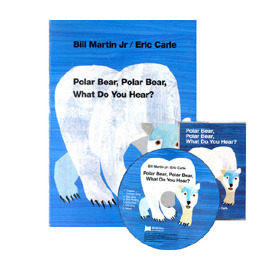 『說口好英文--第20週』- POLAR BEAR POLAR BEAR WHAT DO YOU HEAR?  / 硬頁書+CD