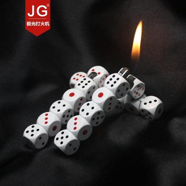 創意奇特趣味骰子造型打火機TW
