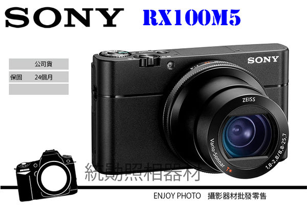 SONY DSC-RX100 M5 RX100V 315點優異對焦性能 高速連拍 4K錄影 公司貨 8/11前贈原廠電池充電組