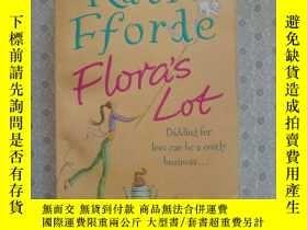 二手書博民逛書店32開英文原版罕見Flora s lotY281995 Katie Fforde Arrow books 出