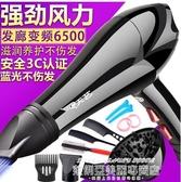 吹風機負離子吹風機大功率3000w家用4000w理髮店髮廊專用6000超大5000 萊俐亞 220v
