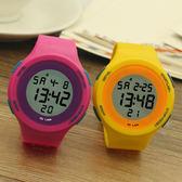 正韓電子錶 果凍錶 男孩手錶男女學生錶兒童手錶潮女WY